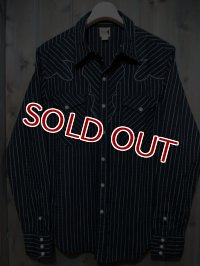 JOE McCOY DOBBY CLOTH WESTERN SHIRT Lot.109 MS14012