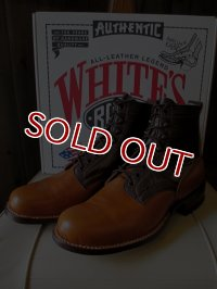 WHITE'S BOOTS White's Smoke Jumper #55 Semi Dress Last Two-Tone Custom