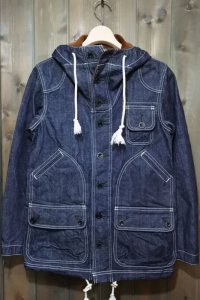 STUDIO D'ARTISAN  US NAVY DENIM PARKA D4403