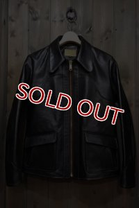 JOE McCOY 70's LEATHER JACKET / DEAD WOOD MJ15011
