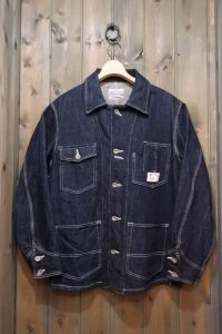STUDIO D'ARTISAN DENIM COVERALL D4347