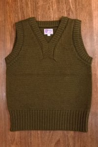 THE REAL McCOY'S SWEATER, SLEEVELESS MC16110