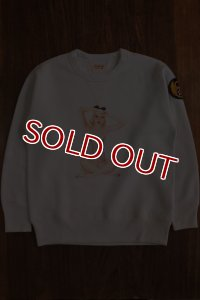 THE REAL McCOY'S Vargas Girl SWEATSHIRT / LITTLE DARLING MV16201