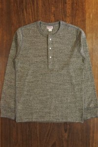 JOE McCOY DOUBLE DIAMOND TWIST YARN HENLEY SHIRT MC17118