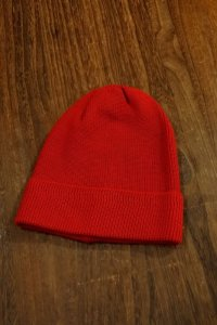 JOE McOY WOOL WATCH CAP MA17101 (RED)