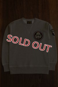THE REAL McCOY'S MILITARY SWEATSHIRT / AIR BOURNE MC17109