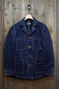 STUDIO D'ARTISAN MR RAIL LORD DOUBLE WABASH JACKET 4433
