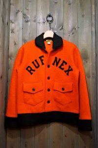 JOE McCOY WOOL SHAWL COLLAR JACKET / RUFNEX MJ17129 ORANGE