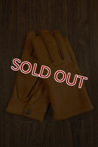 DELUXEWARE DLG-001...LEATHER GLOVE (CAMEL)