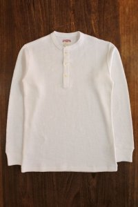 JOE McCOY DOUBLE DIAMOND WALE KNIT HENLEY SHIRT MC18020