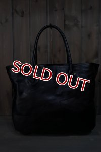 JOE McCOY LEATHER TOTE BAG / PATCH WORK MA16020