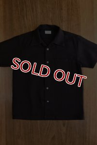 JOE McCOY PANAMA SHIRT S/S MS18009 NAVY