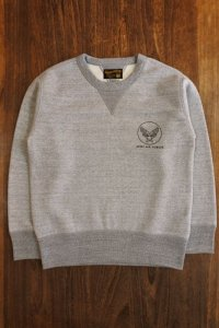 THE REAL McCOY'S MILITARY SWEATSHIRT / ARMY AIR FORCE MC18106