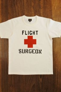 THE REAL McCOY'S MILITARY TEE / FLIGHT SURGEON MC19018