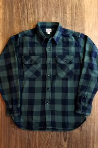 JOE McCOY 8 HOUR UNION BUFFALO CHECK FLANNEL SHIRT MS20101