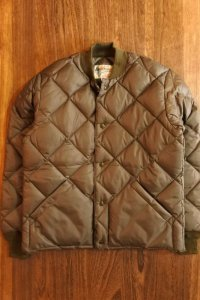 JOE McCOY NYLON QUILTED DOWN JACKET MJ120124