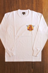 THE REAL McCOY'S LOGO TEE L/S MC20002