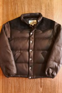 JOE McCOY DEERSKIN DOWN JACKET (BLACK) MJ20119